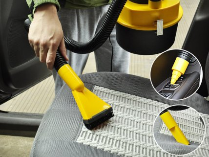 12V Portable Wet / Dry Vacuum Cleaner