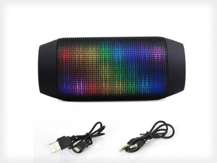 Pulse Effect Bluetooth Wireless Rugged Speaker