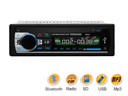 Bluetooth Handsfree Car Stereo FM MP3 USB SD AUX
