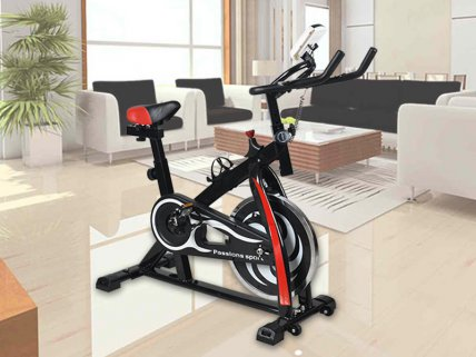 Upright Exercise Bike Home Fitness Bike Trainer