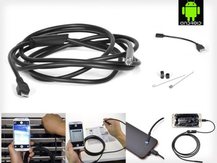 Borescope Inspection Camera for Smartphone