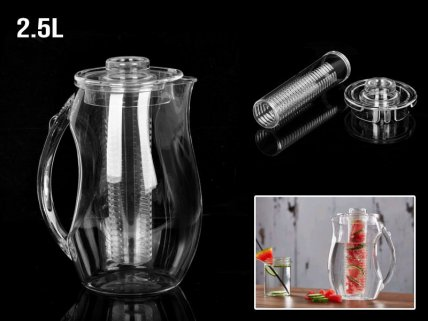 2.5L Fruit Infuser Pitcher
