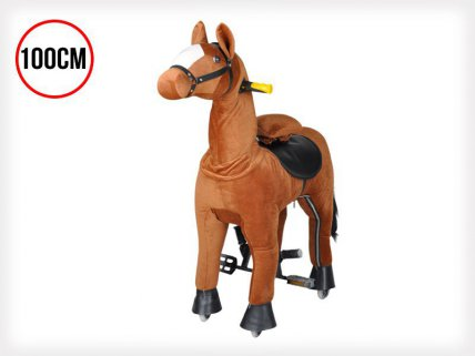 Kids Action Pony Ride-on Horse - 100cm