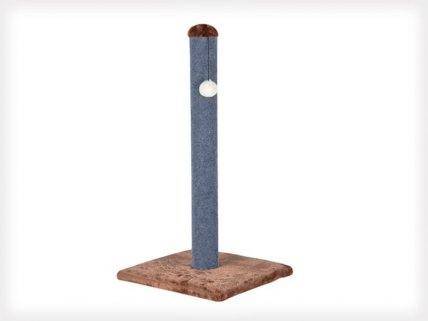 Large Cat Scratch Pole with Play Toy - 80cm