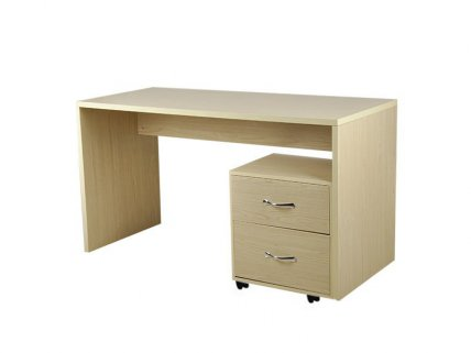Computer Desk Study Table 1.4m with File Cabinet