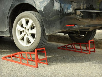 Steel Access Car Vehicle Lift Ramp x 2 - 2 Tone