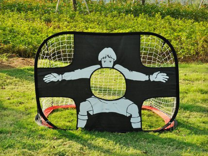 Dual-Side Portable Football Target Practice Goal