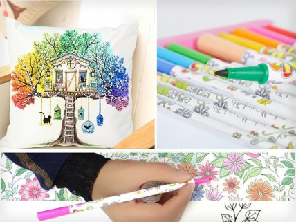 DIY Colouring Cushion Covers 2pk