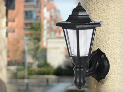 Wall Mounted Vintage Solar Light - 2pk