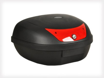 50L Motorcycle Top Box with Tail Light