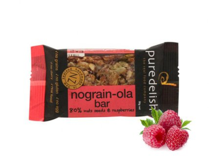 Pure delish Nograin-ola bar Multipack x5