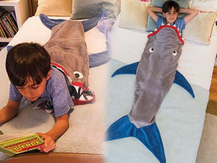 Sleeping Shark Kids Sleeping Bag