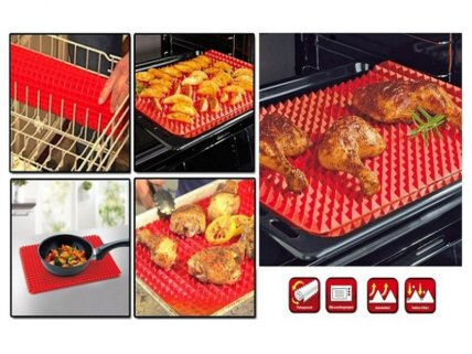 Pyramid Pan Silicon Cooking Mat