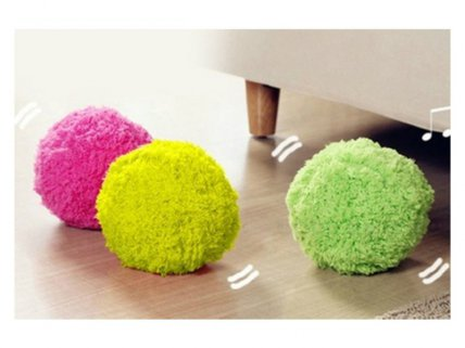 Mini Cleaning Robot Balls Set