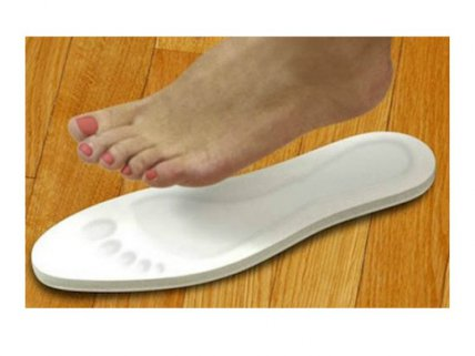 Pair of Antibacterial Memory-Foam Insoles