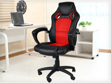 Racing Car PU Leather Office Chair