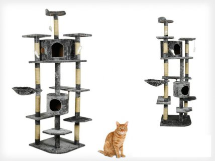 Huge 6 Layers Cat Tree House 198CM