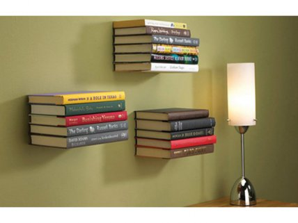 Magical Floating Bookshelf