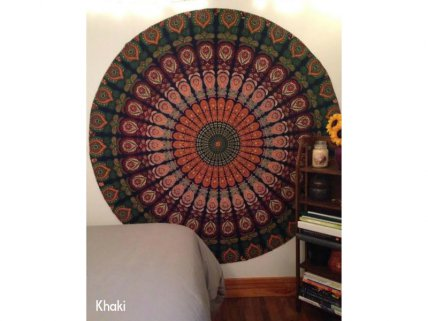 Indian Bohemian Hippie Mandala Beach/Yoga Throw