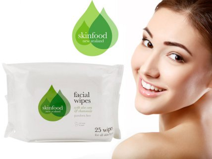 Skinfood Facial Wipes 25pc - 4pk