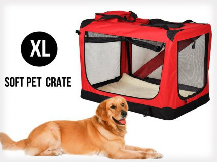 Collapsible Portable Pet Dog Cat Carrier XL