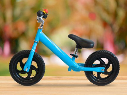 Kids' Metal Balance Bike