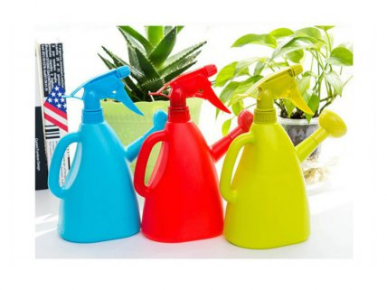 Hand Pressure Plants Watering Cans - 2pk