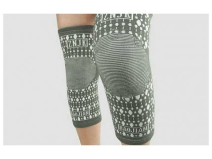 Pair of Self-Heating Knee Wrap