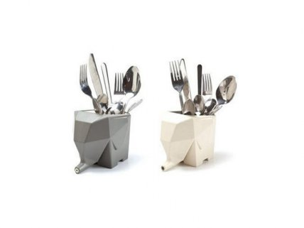 Multifunctional Elephant Cutlery Drainer
