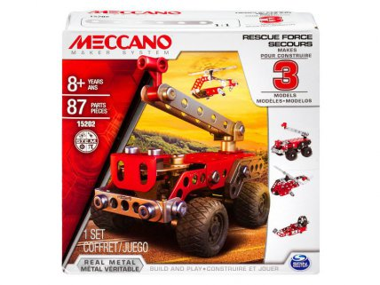 Meccano 3 Model Set - Rescue Squad