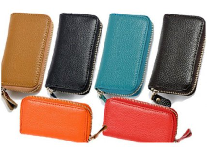 Genuine Leather Key Pouch