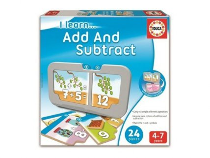 I learn… ADD AND SUBTRACT
