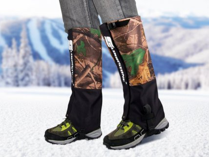 Pair of Long Gaiters for Hunting/Outdoors