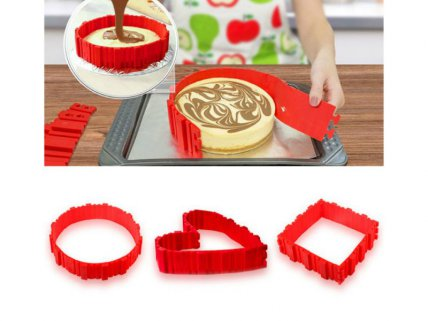 DIY Silicone Cake Mould