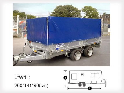 Trailer Cover 8 x 4ft