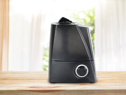 5.8L Ultrasonic Air Purifier/Humidifier - Black