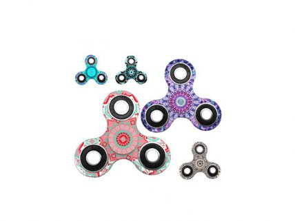 Mandala Design Anti Press Fidget Spinner