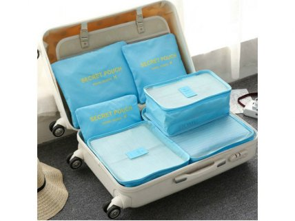 6Pcs Waterproof Travel Storage Bags