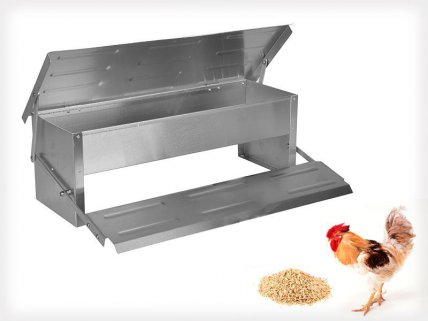 Aluminum Chicken Feeder