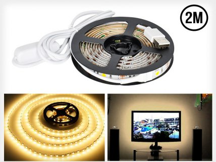 2M LED Light Strip USB Power