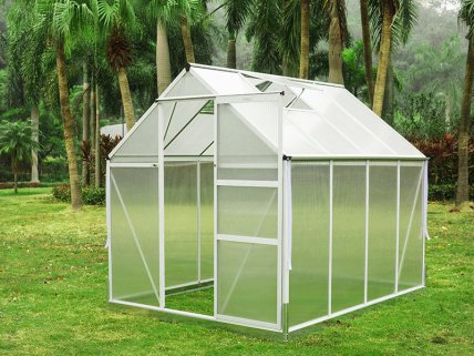 Aluminum Greenhouse - Medium