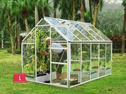 Aluminum Greenhouse - Large