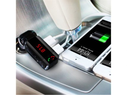 Bluetooth Car Charger FM Transmitter V3.0