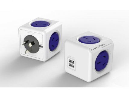 Allocacoc's PowerCube Original with Dual USB