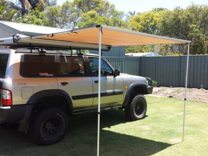 Pull-Out Car Awning Roof Shade