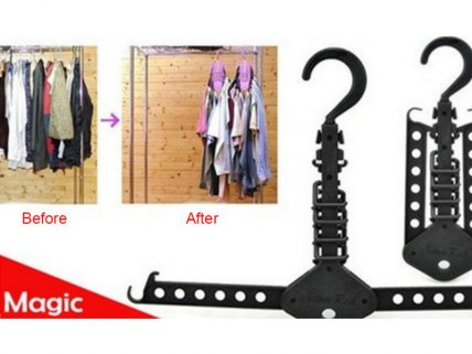 4 Pack of Magic Clothes Hanger