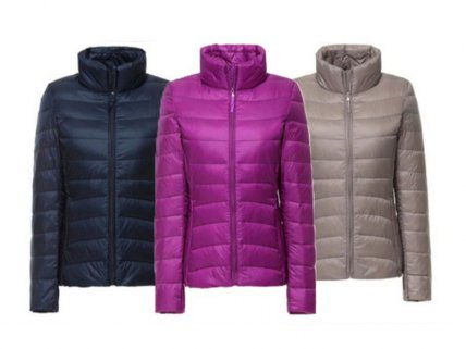 Women's Packable Down Puffer Jackets