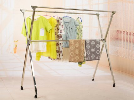 Stainless Steel Telescopic Clothes Hanger