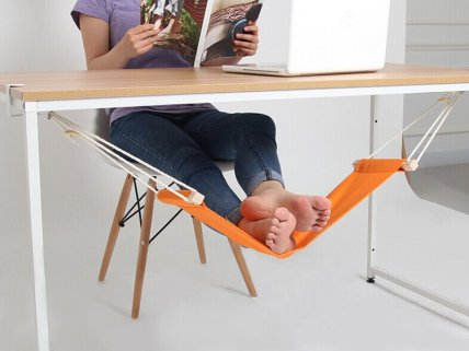 Portable Mini Foot Rest Hammock