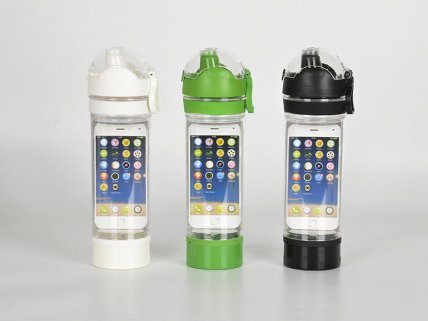 iPhone Storage Water Bottle